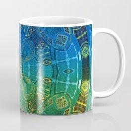Glowing Vintage African Mandala Coffee Mug