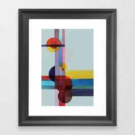expo 68 (turquoise) Framed Art Print