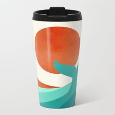Wave (day) Metal Travel Mug