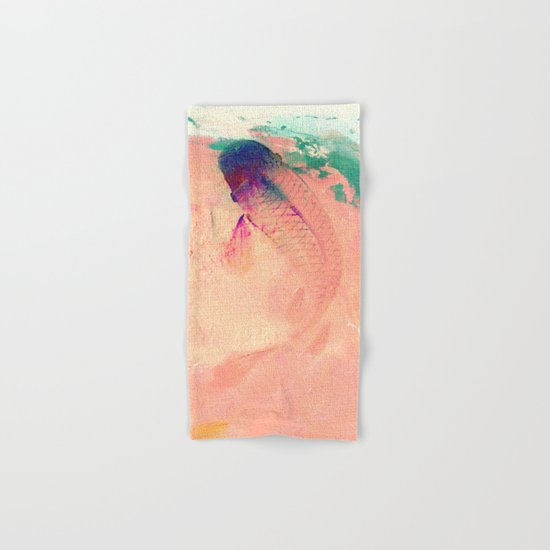 Canvas Koi Hand & Bath Towel