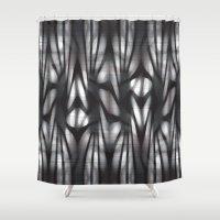 random Shower Curtains featuring Random, Random by Florin