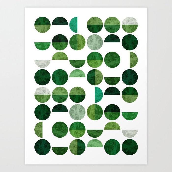 Geometric Pattern VII Kunstdrucke