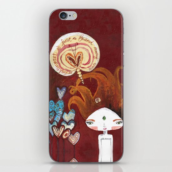 Friends-4-ever Bhoomie iPhone & iPod Skin
