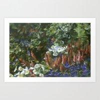 Garden at Grant Park Art Print