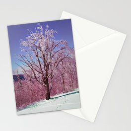 Winter Maple Stationery Cards