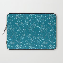 Animal Constellations by Andrea Lauren  Laptop Sleeve