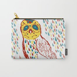 Sugar Skull Owl Carry-All Pouch