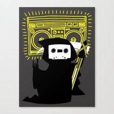 Death Mixtape Canvas Print