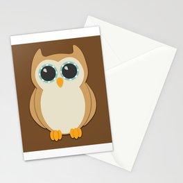 Forest Owl Nursery Set Stationery Cards