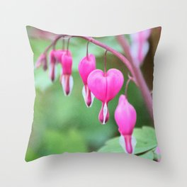 Heart of the Garden Throw Pillow