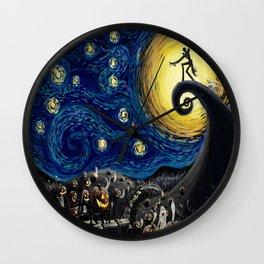 Jack starry night Wall Clock