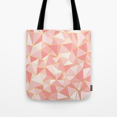 Ab Out Blush Gold Tote Bag