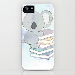 KOALA READS iPhone Case