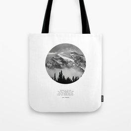 Climb that Goddamn Mountain Tote Bag