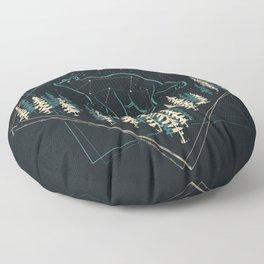 Heaven's Wild Bear Floor Pillow