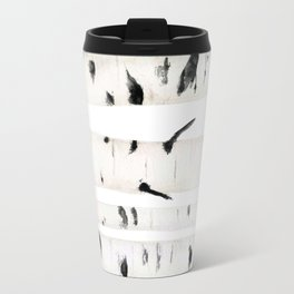 birch  watercolor Travel Mug