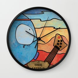 Laurino from Venus (Bass) Wall Clock