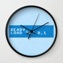 Ready to Get Loaded (screen) Wall Clock