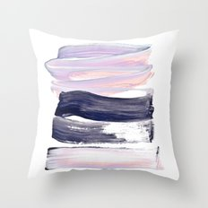 summer pastels Throw Pillow