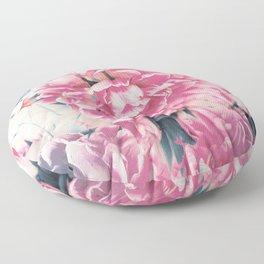 beautiful flowers Floor Pillow