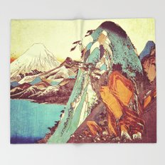 Rapture at Kunimata Throw Blanket