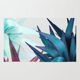 Tropical Leaves, Botanical Rug