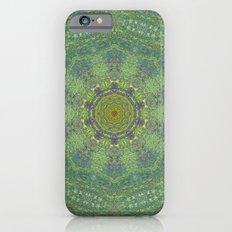 liquid green mandala? iPhone 6s Slim Case