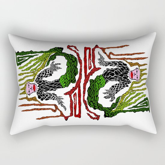 The Genius Birdman no background Rectangular Pillow