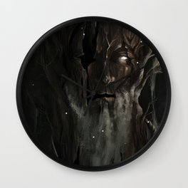 Your neighbor the creepy tree grandpa Wall Clock