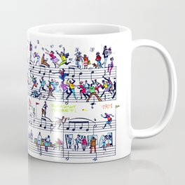 etude 65 Coffee Mug