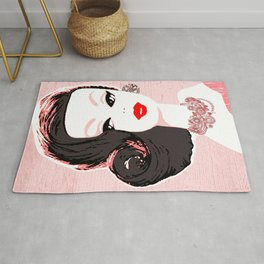 Barbie in Jewels Rug