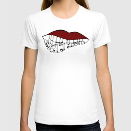 Lip Biting Ambition T-shirt