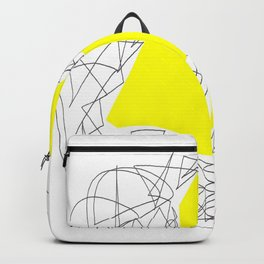 Collage yellow gar Backpack