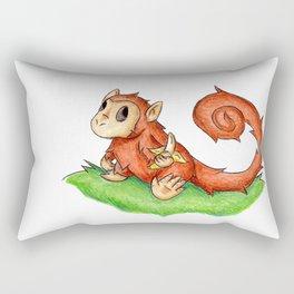 Banana Monkey Rectangular Pillow