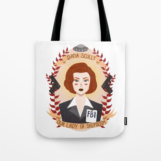 Dana Scully Tote Bag
