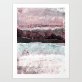 Watercolors 24 Art Print