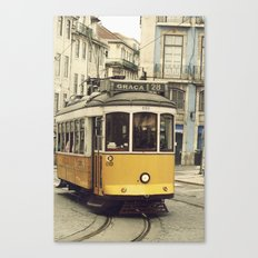 Tram numero 28 Canvas Print