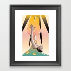 Magic Tooth Framed Art Print