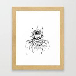 Bugged Mind Framed Art Print
