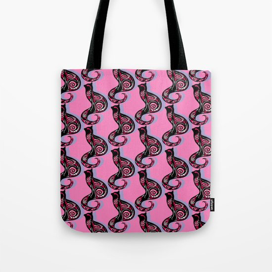 Swirly Cats 1 Tote Bag