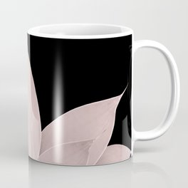 Blush Agave on Black #1 #tropical #decor #art #society6 Coffee Mug