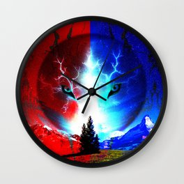 Fox Vision Wall Clock