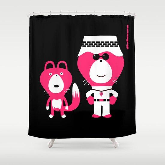 wonderlust : idokungfoo.com Shower Curtain