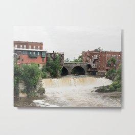 Middlebury Falls 01 Metal Print