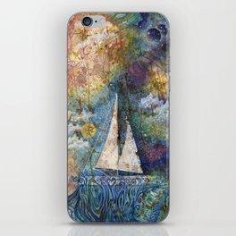 Dreaming at Sea iPhone Skin