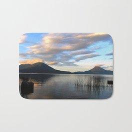 Lago Atitlan Sunrise Bath Mat