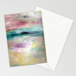White Ocean Stationery Cards
