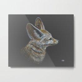 Fennec Fox (Colored Pencil) Metal Print