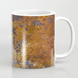 Rusted and Scratched Coffee Mug