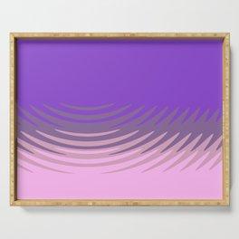 Manan pink purple Serving Tray